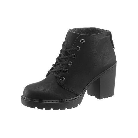Dames schoen: RIEKER enkellaarsjes