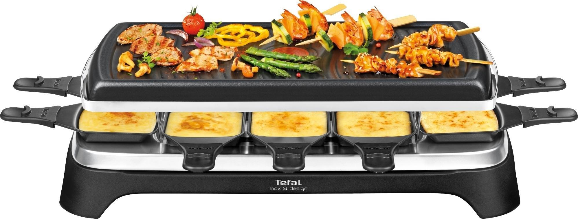 Tefal raclettegrill RE4588 voor 10 personen nu online bestellen