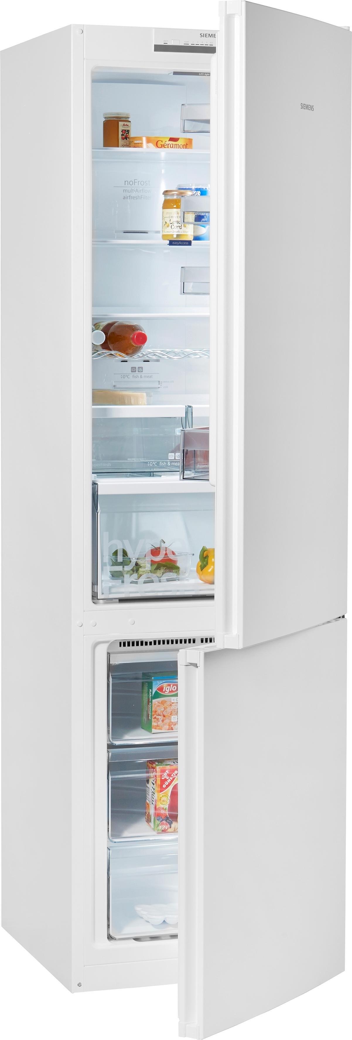 Siemens koel-vriescombinatie KG39NVL35, energieklasse A++, 203 cm hoog, No Frost goedkoop op otto.nl kopen