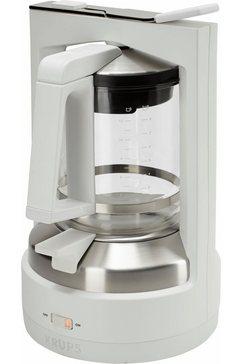 koffiezetapparaat met druksysteem KM4682 T 8.2, wit/edelstaal