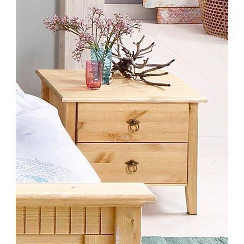 HOME AFFAIRE Nachtkastje met houtstructuur