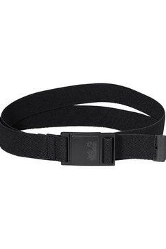 jack wolfskin moneybelt »stretch belt« zwart