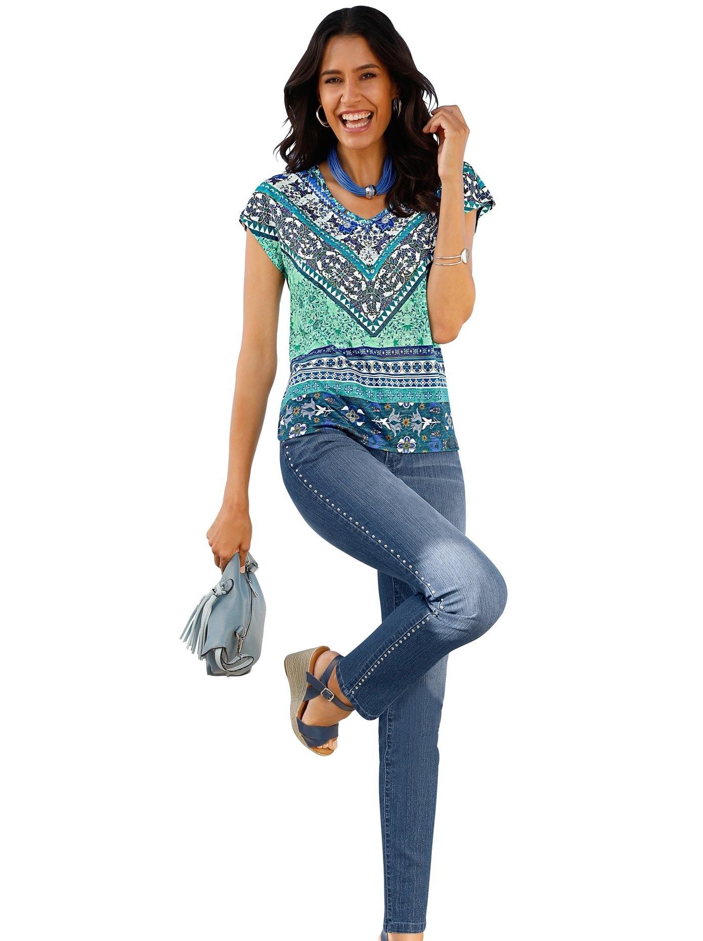 Classic Inspirationen shirt met V-hals bij OTTO online kopen