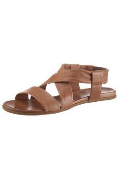 2go fashion sandalen bruin