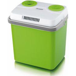 severin elektrische koelbox kb 2922, energieklasse a++ groen