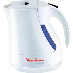 moulinex waterkoker principio by1071, 1,2 liter, 2400 w, wit wit