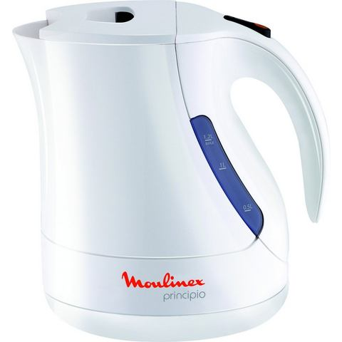 MOULINEX waterkoker Principio BY1071, 1,2 liter, 2400 W, wit