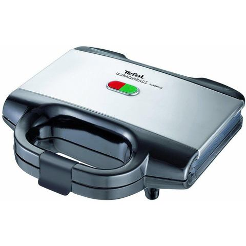 TEFAL sandwichmaker Ultracompact SM1552, edelstaal