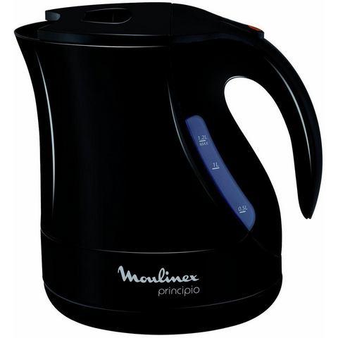 MOULINEX waterkoker Principio BY1078, 1,2 liter, 2400 W, zwart