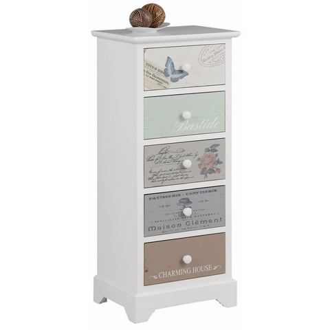 Kasten  vitrinekasten HOME AFFAIRE kast Pastel in 3 afmetingen 756189