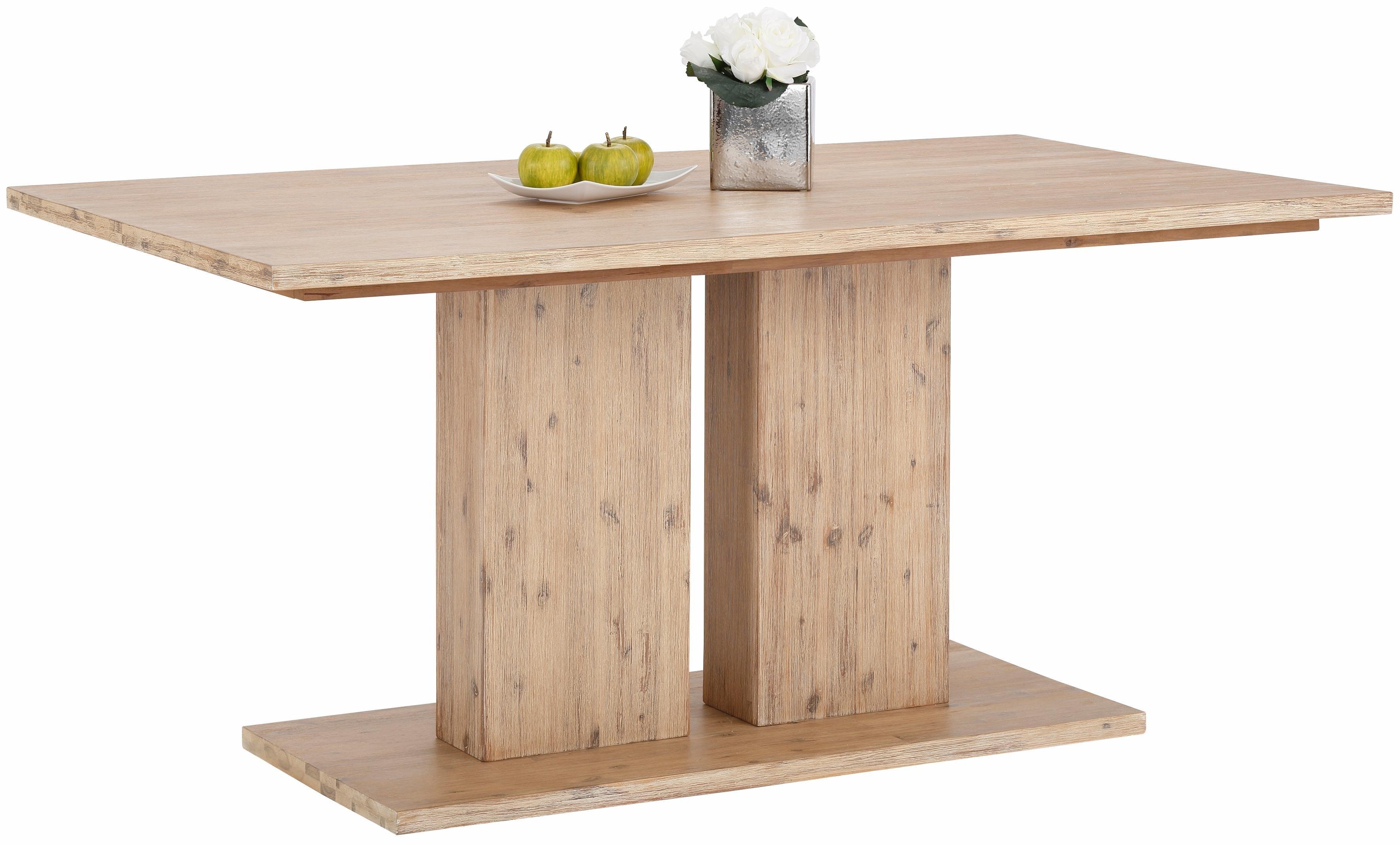 Home affaire eettafel »Macey«, van massief acaciahout, in 2 afmetingen en 2 kleuren bij OTTO online kopen
