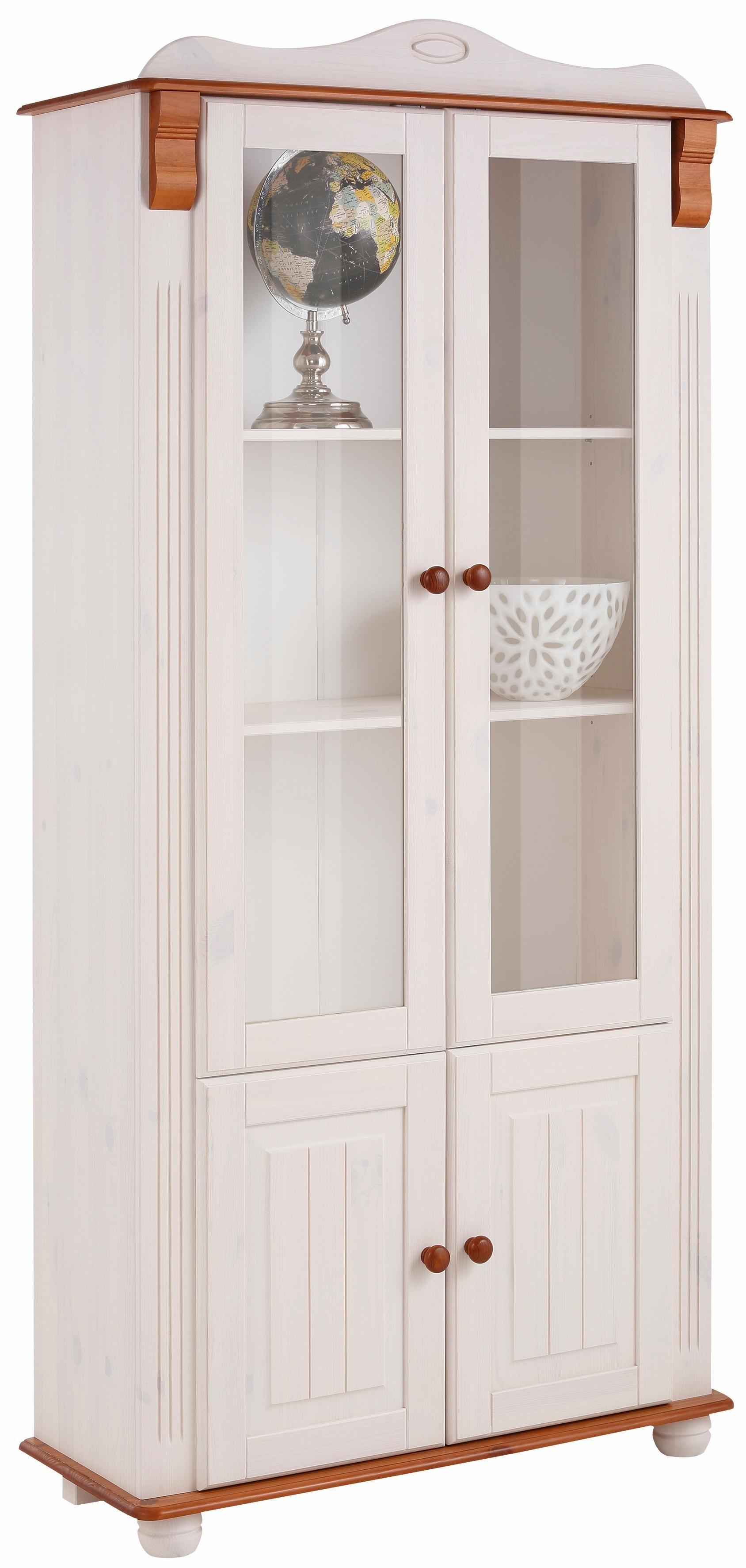 Home affaire vitrinekast 4-deurs »Adele«, hoogte 185 cm - gratis ruilen op otto.nl