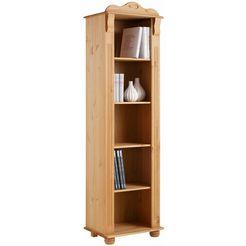 home affaire boekenkast »adele«, hoogte 185 cm beige