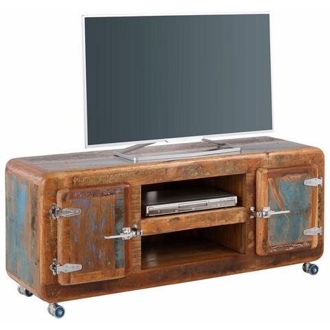 SIT TV-meubel Fridge, breedte 135 cm met koelkastgrepen