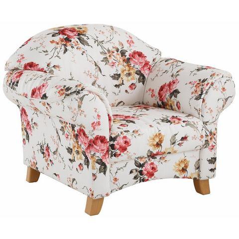 HOME AFFAIRE fauteuil Mayfair, met bloemmotief