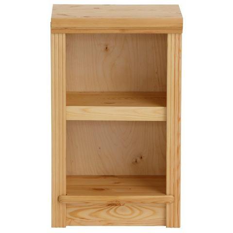 Kasten  vitrinekasten Massief houten kast 'serie Soeren' hoogte ca 67 cm 807889