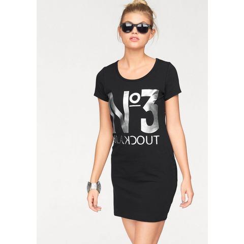 AJC Jersey-jurk met statement-print