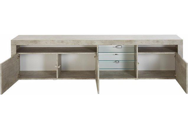 lowboard breedte 200 cm koop je bij otto. Black Bedroom Furniture Sets. Home Design Ideas