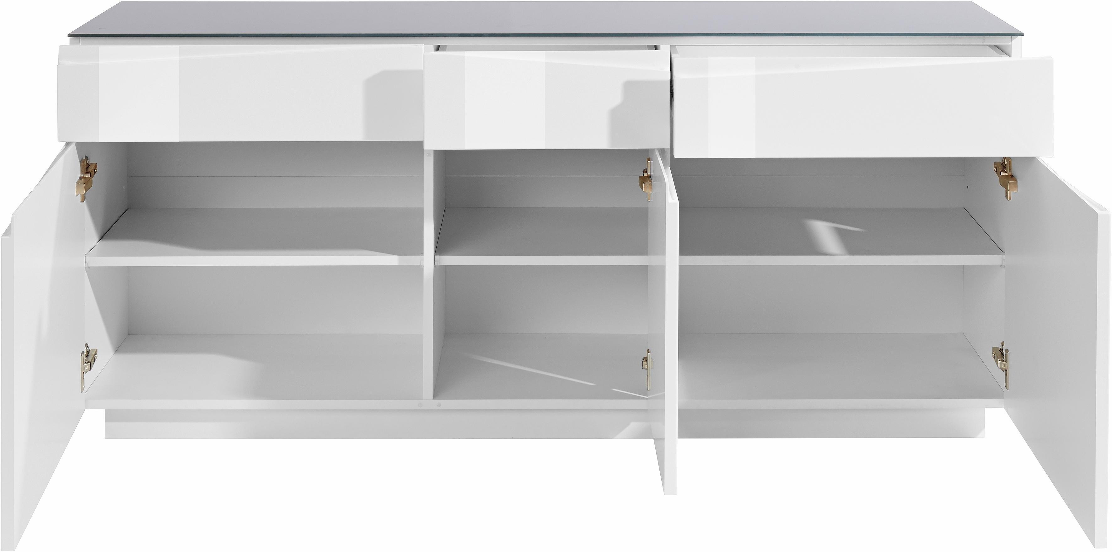 steinhoff sideboard breedte 160 cm online kopen otto. Black Bedroom Furniture Sets. Home Design Ideas