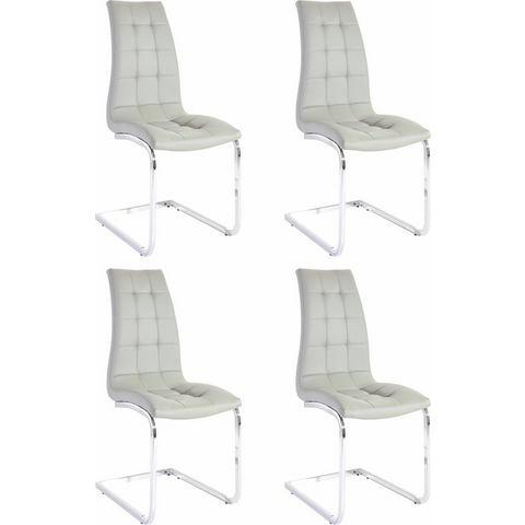 Eetkamerstoelen Vrijdragende stoel in set van 2 of 4 425569