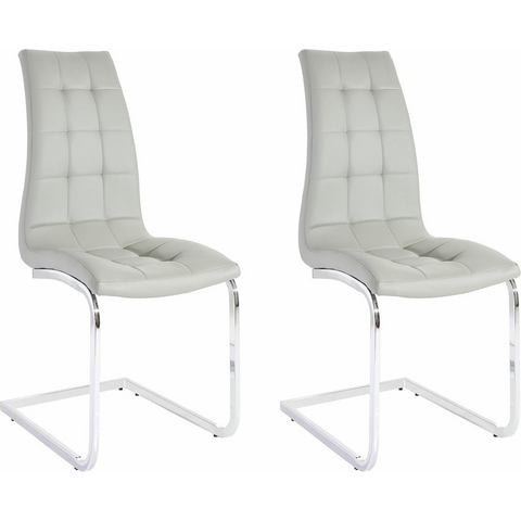 Eetkamerstoelen Vrijdragende stoel in set van 2 of 4 651450