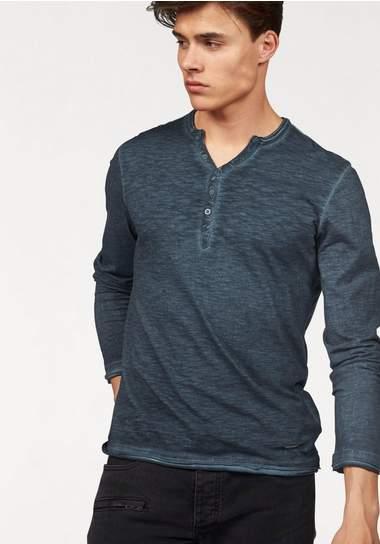 BRUNO BANANI shirt met lange mouwen