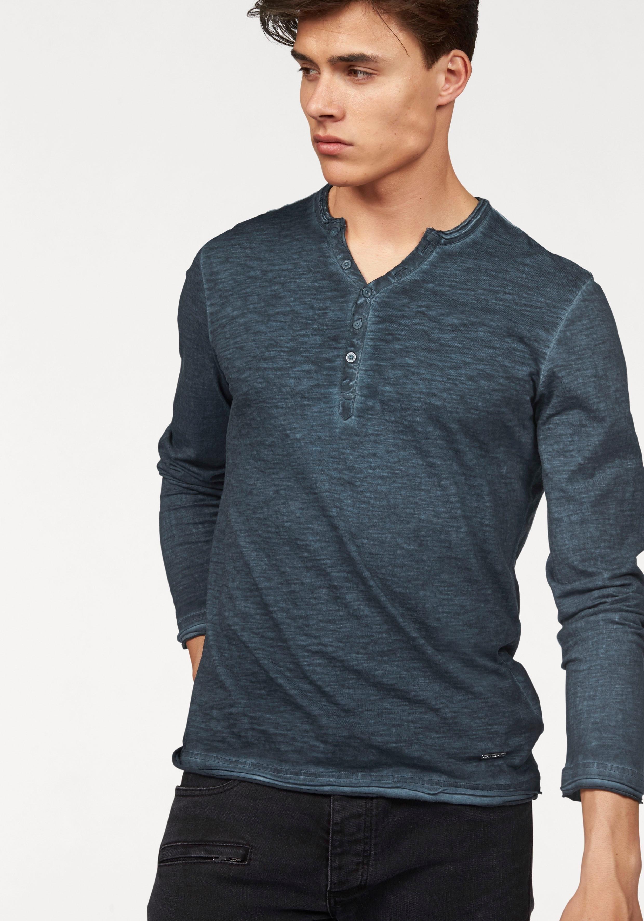 Bruno Banani shirt met lange mouwen bestellen: 14 dagen bedenktijd