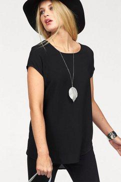 vero moda shirtblouse vmboca zwart