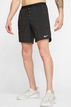 "nike runningshort nike flex stride men's 7"" brief running shorts zwart"