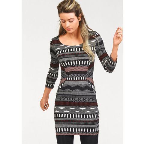 AJC Jersey-jurk met allover-print