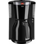 melitta filterkoffieapparaat look therm selection 1011-12, 1,1 l, thermo kan met één hand te bedienen zwart