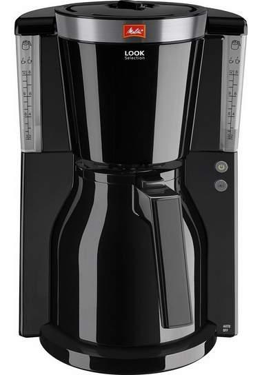 melitta koffiezetapparaat look therm selectrion 1011 12 met thermoskan zwart in de online shop. Black Bedroom Furniture Sets. Home Design Ideas