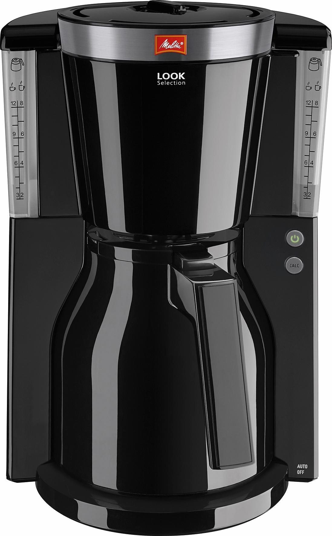 Melitta Koffiezetapparaat Look Therm Selectrion 1011-12, met thermoskan, zwart goedkoop op otto.nl kopen