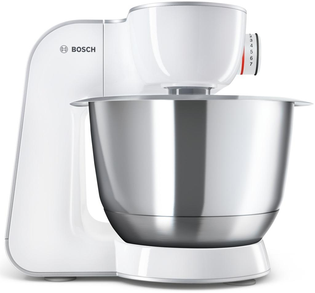 bosch keukenmachine creationline mum58243 3 9 liter wit zilverkleur 1000 watt online. Black Bedroom Furniture Sets. Home Design Ideas
