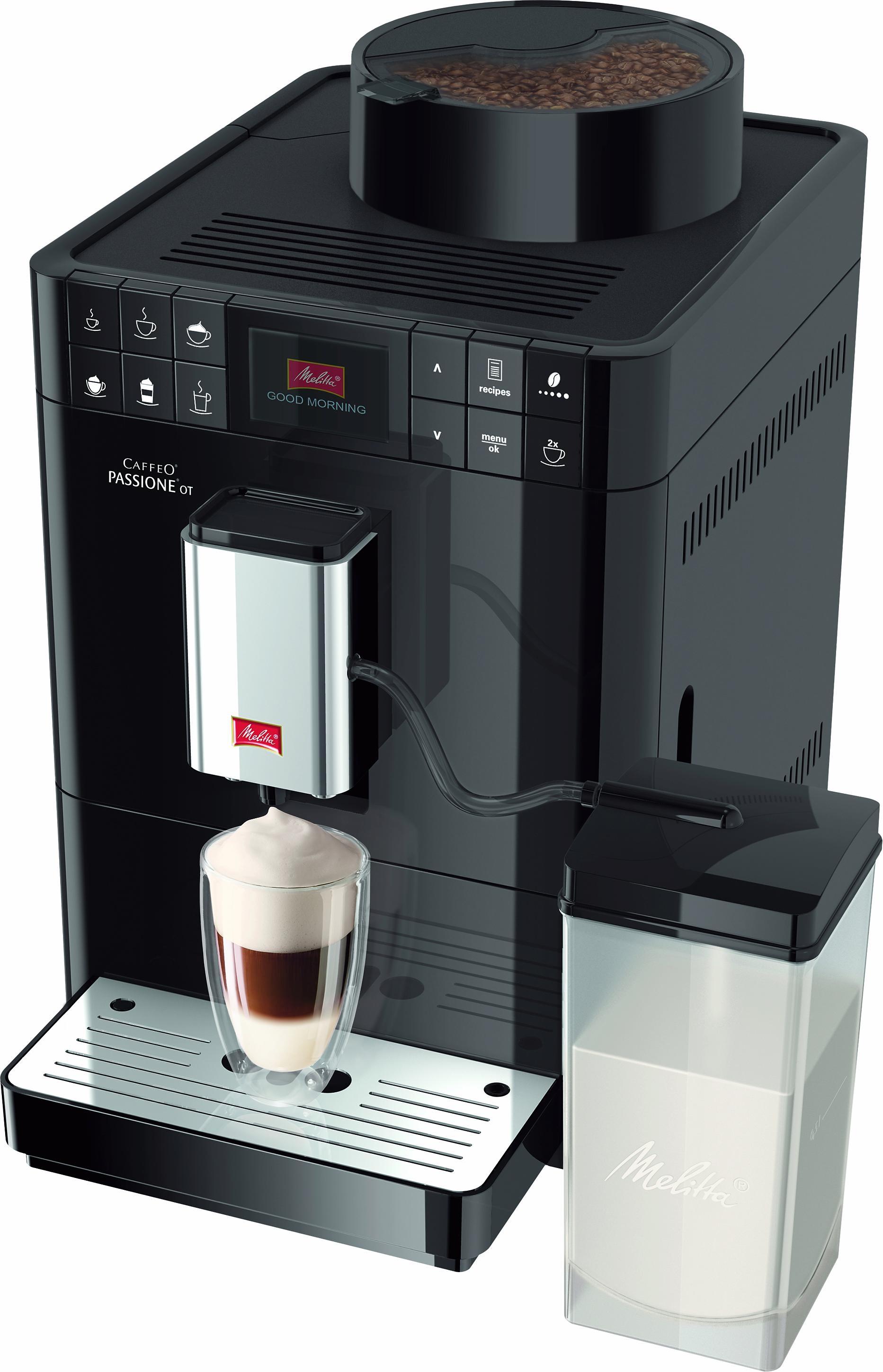Melitta volautomatisch koffiezetapparaat Caffeo Passione OT F53/1-102, zwart online kopen op otto.nl