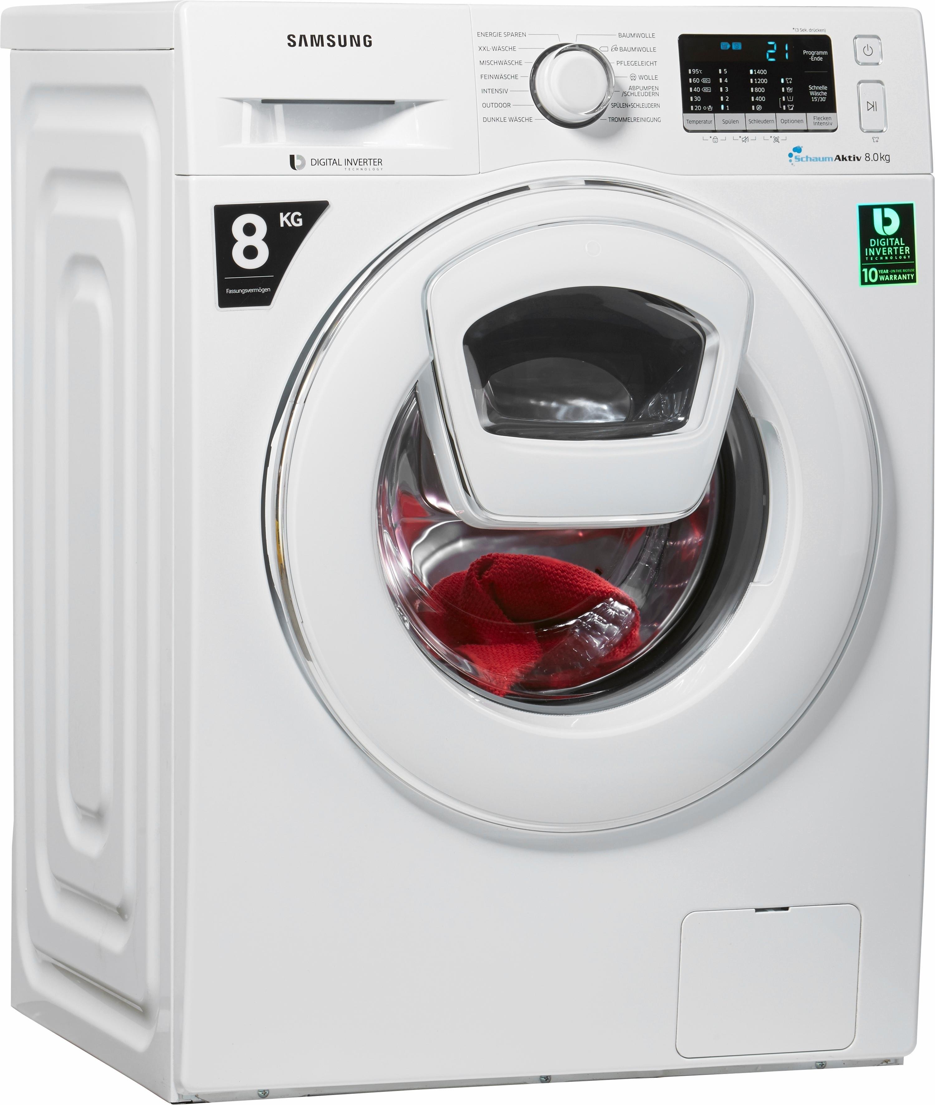 SAMSUNG wasmachine WW5500 AddWash WW80K5400WW/EG voordelig en veilig online kopen