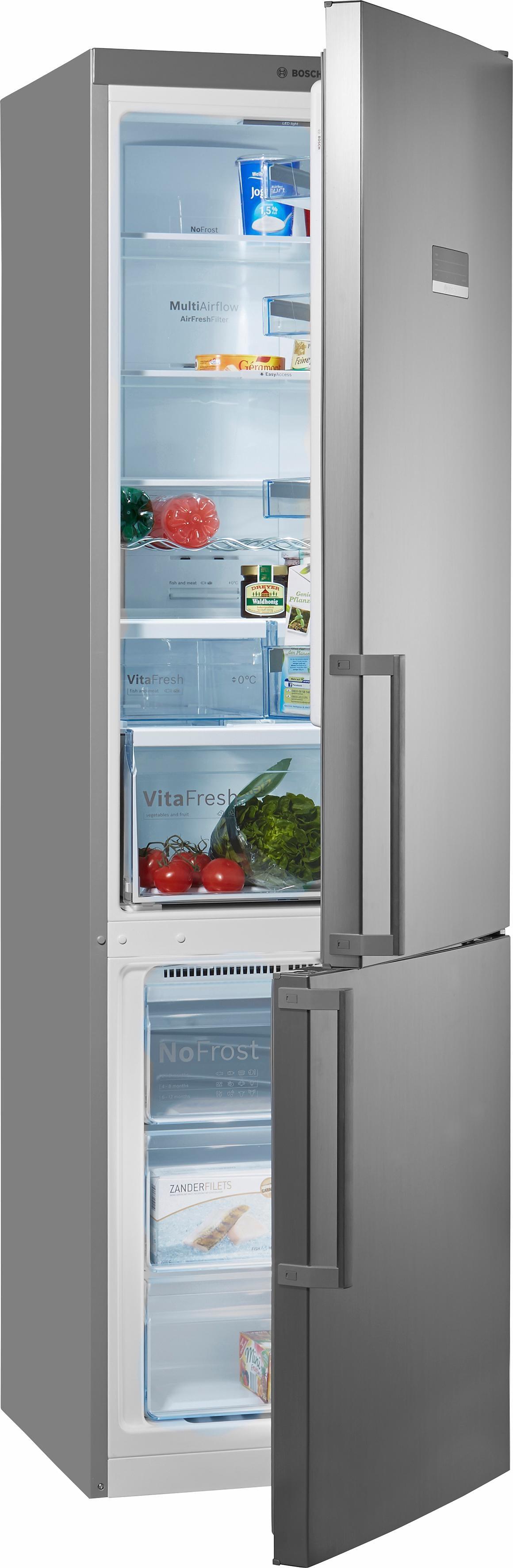 Bosch vrijstaande koel-vriescombinatie KGN39XL35, A++, 203 cm, No Frost nu online bestellen