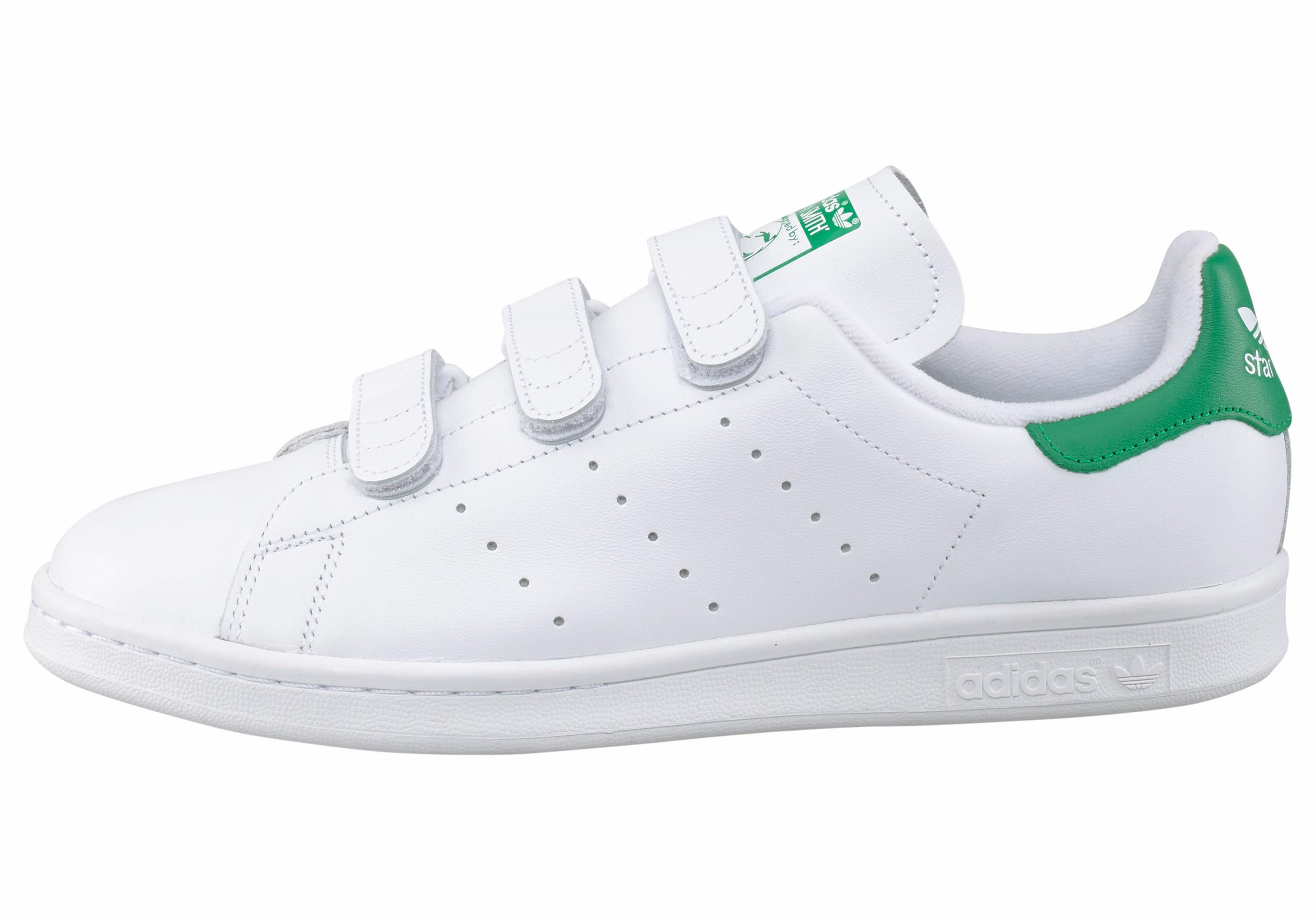 witte adidas sneakers stan smith cf