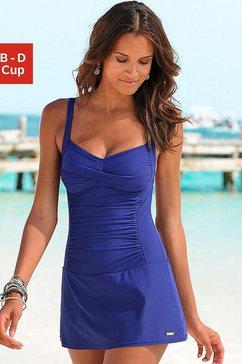 lascana badpak-jurkje blauw