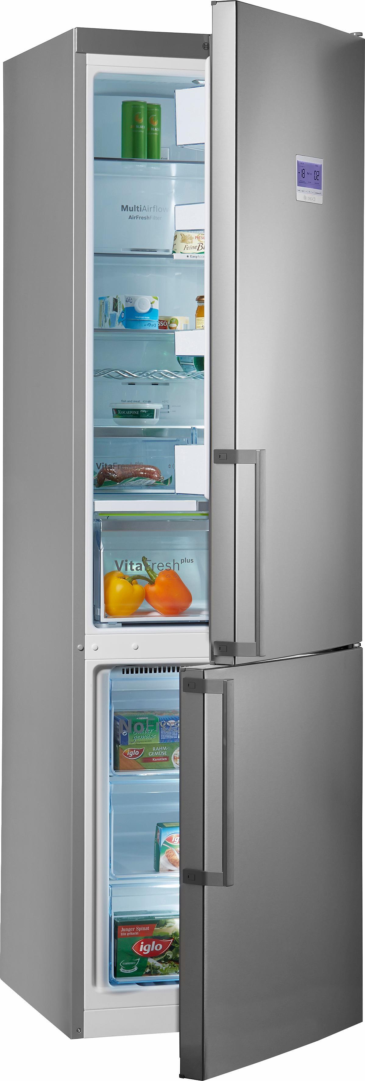 Bosch koel-vriescombinatie KGN39AI45, A+++, 203 cm hoog, No Frost voordelig en veilig online kopen