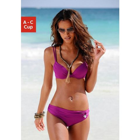 SOLIVER Push-up-bikini met dubbele bandjes 2-delig
