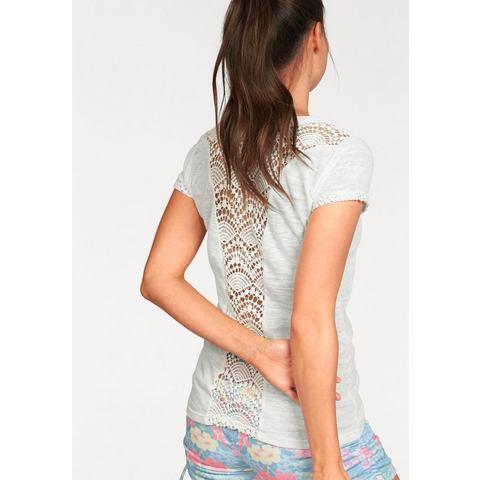 KANGAROOS T-shirt met kanten inzet