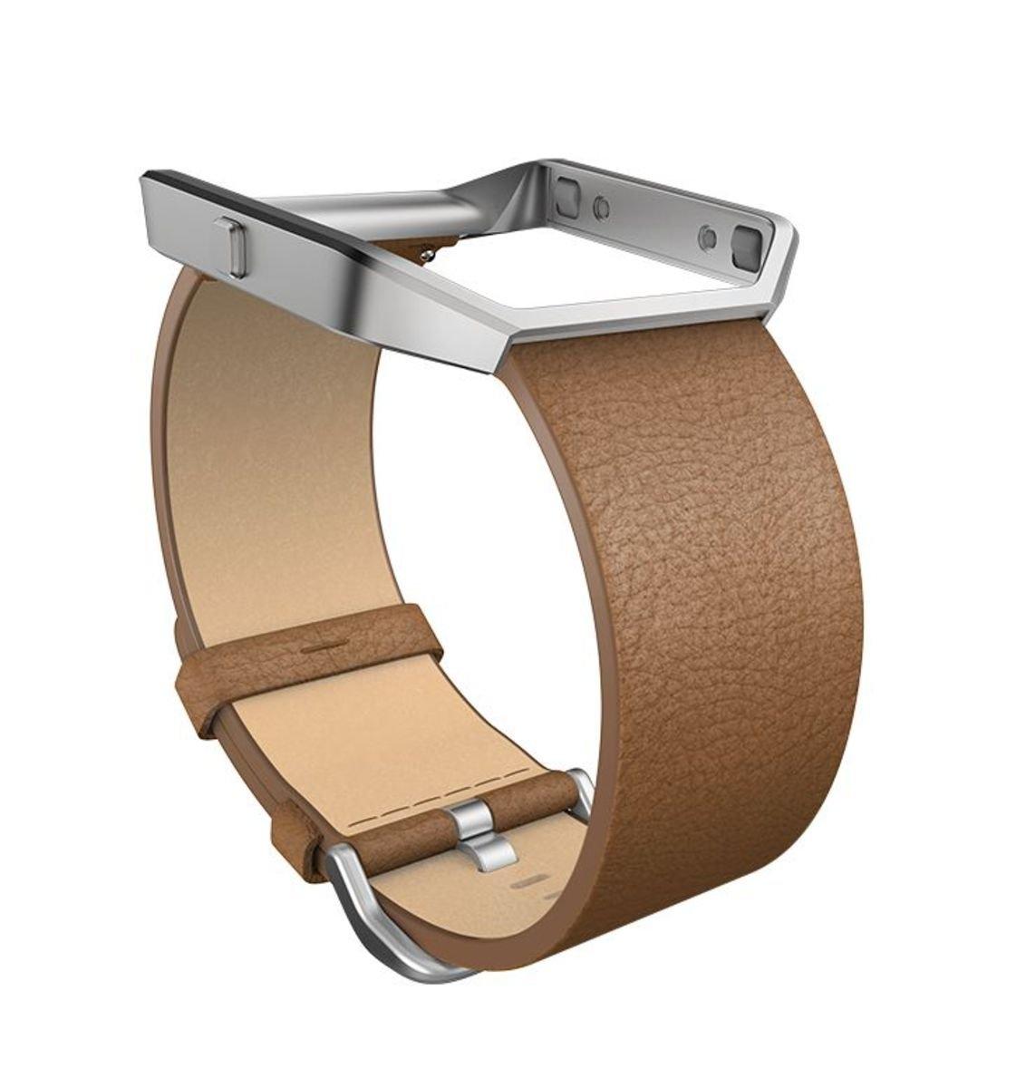 Fitbit reserve-/verwisselbare armband »Leren armband voor BLAZE in maat L« veilig op otto.nl kopen