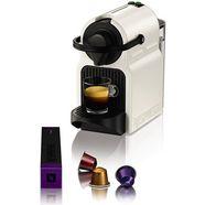 nespresso koffiecapsulemachine inissia xn1001, korte opwarmtijd, koffiehoeveelheid instelbaar, snelkeuzetoets, automatische uitworp van gebruikte capsules wit