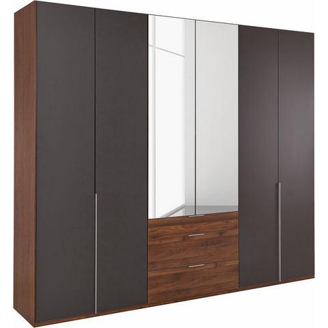 Kledingkasten Wimex garderobekast met spiegeldeuren en laden New York 833697