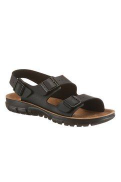 birkenstock sandalen »kano« zwart