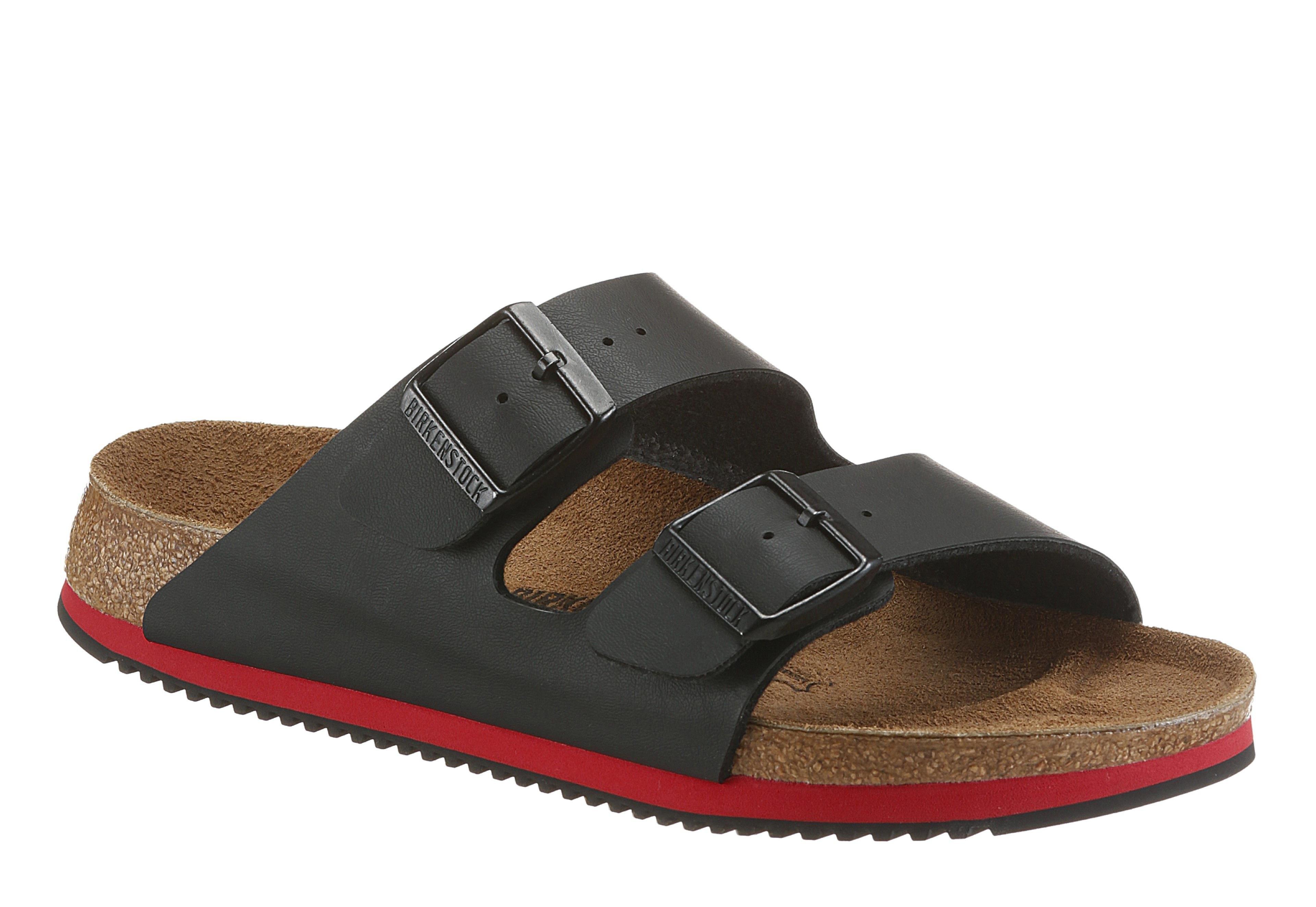 Birkenstock Werkschoenen Arizona SL slippers met olie- en vetbestendige grip-loopzool veilig op otto.nl kopen