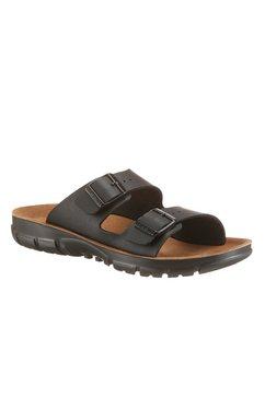 birkenstock slippers »bilbao« zwart