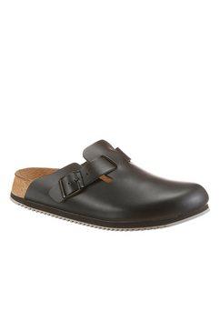 birkenstock werkschoenen boston sl clog voor een normale werkdag zwart