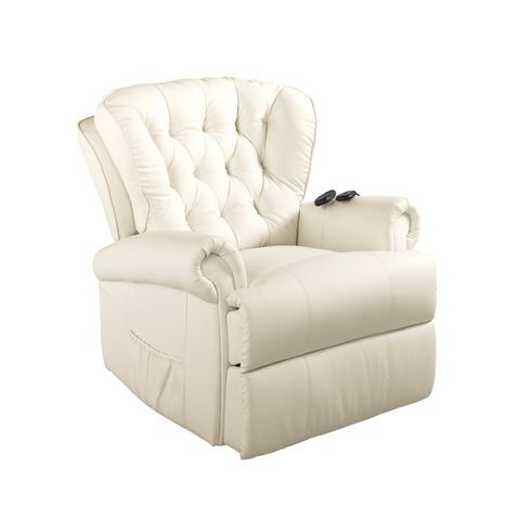 heine home Unisex Relaxfauteuil wit ca. 100-88-85 cm